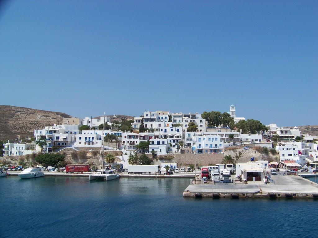 Adamante, port de Milos