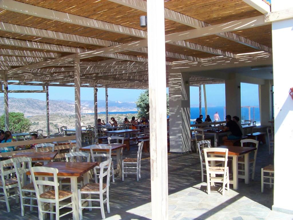 milos camping : le restaurant