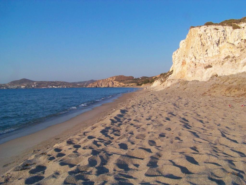 Achivadolimni, plage de Milos