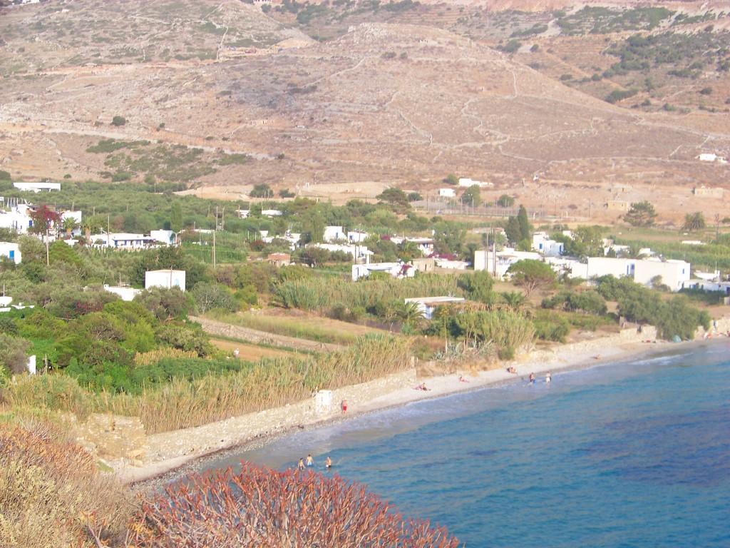 Plage d'Aegiali.