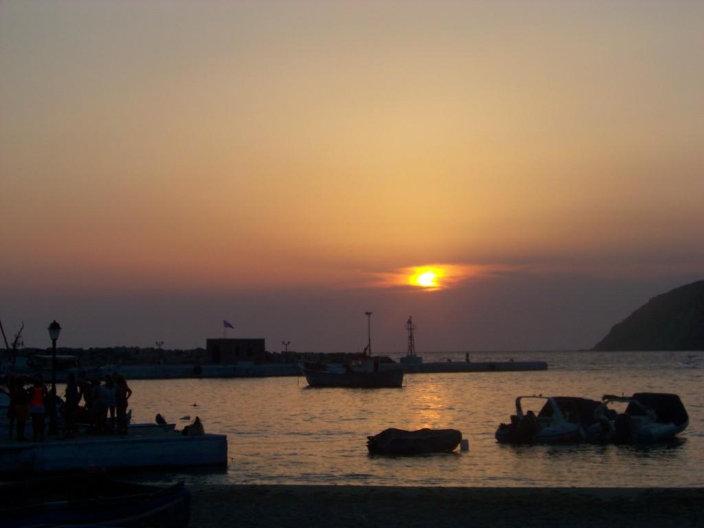Port d'Aegiali (Amorgos)