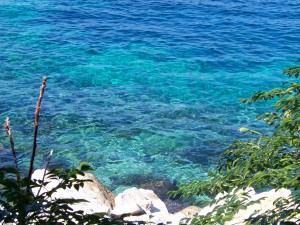 Mer turquoise à Amorgos
