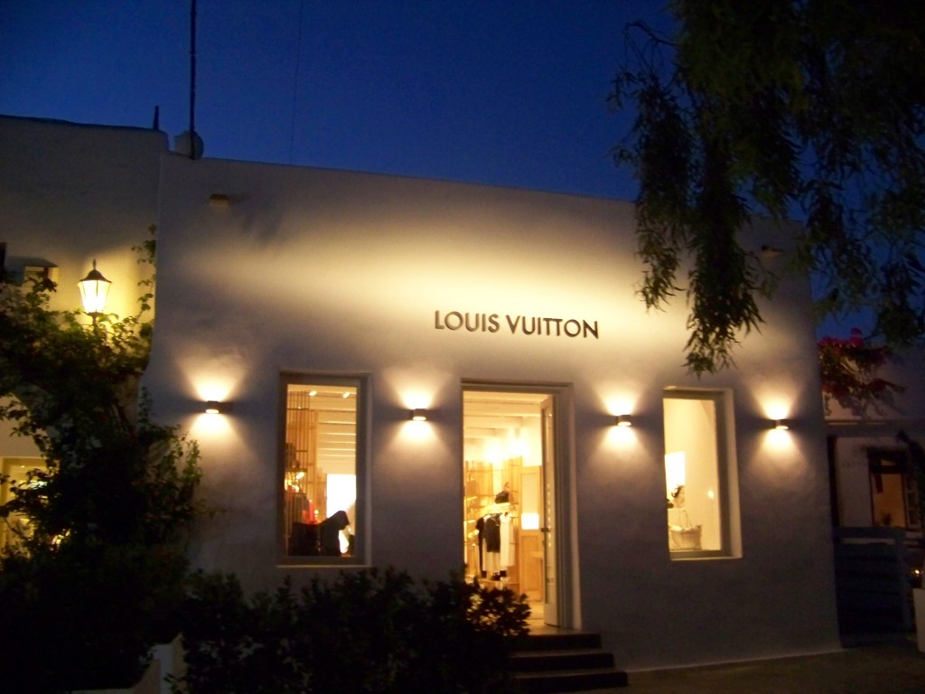 Louis Vuitton à Mykonos