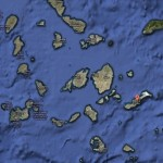 Carte des Cyclades avec Amorgos