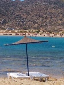 Manganari : une plage à Ios