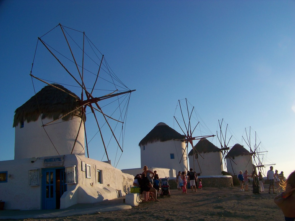 moulin à Mykonos