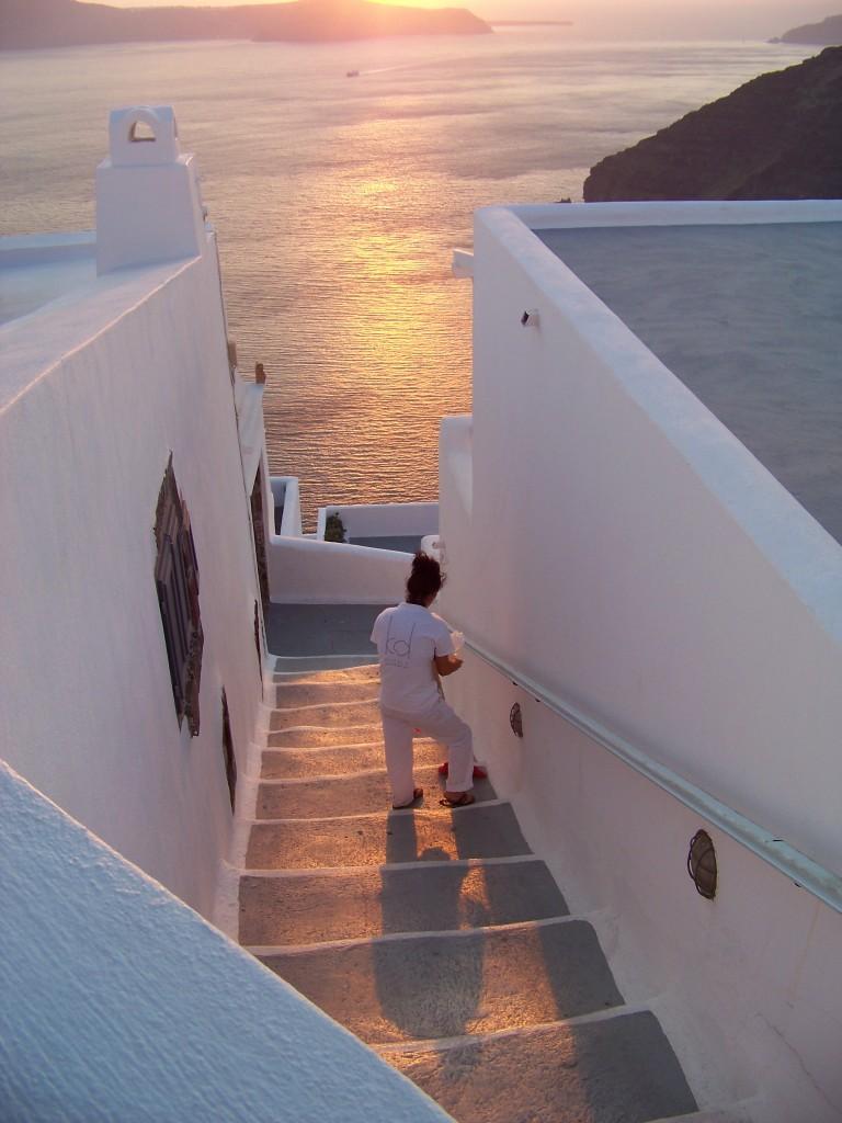 Santorin sunset