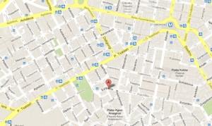 Hôtel Evripides à Athènes (carte)