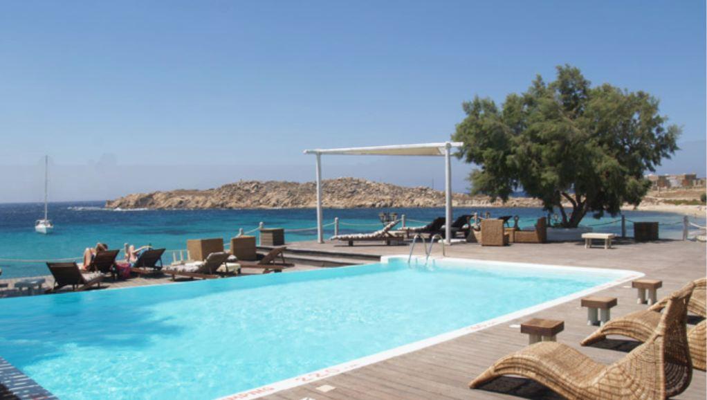 Piscine du camping de Mykonos