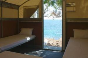 bungalows du camping mykonos