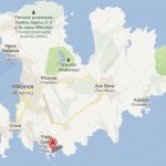 Carte : Le camping de Mykonos