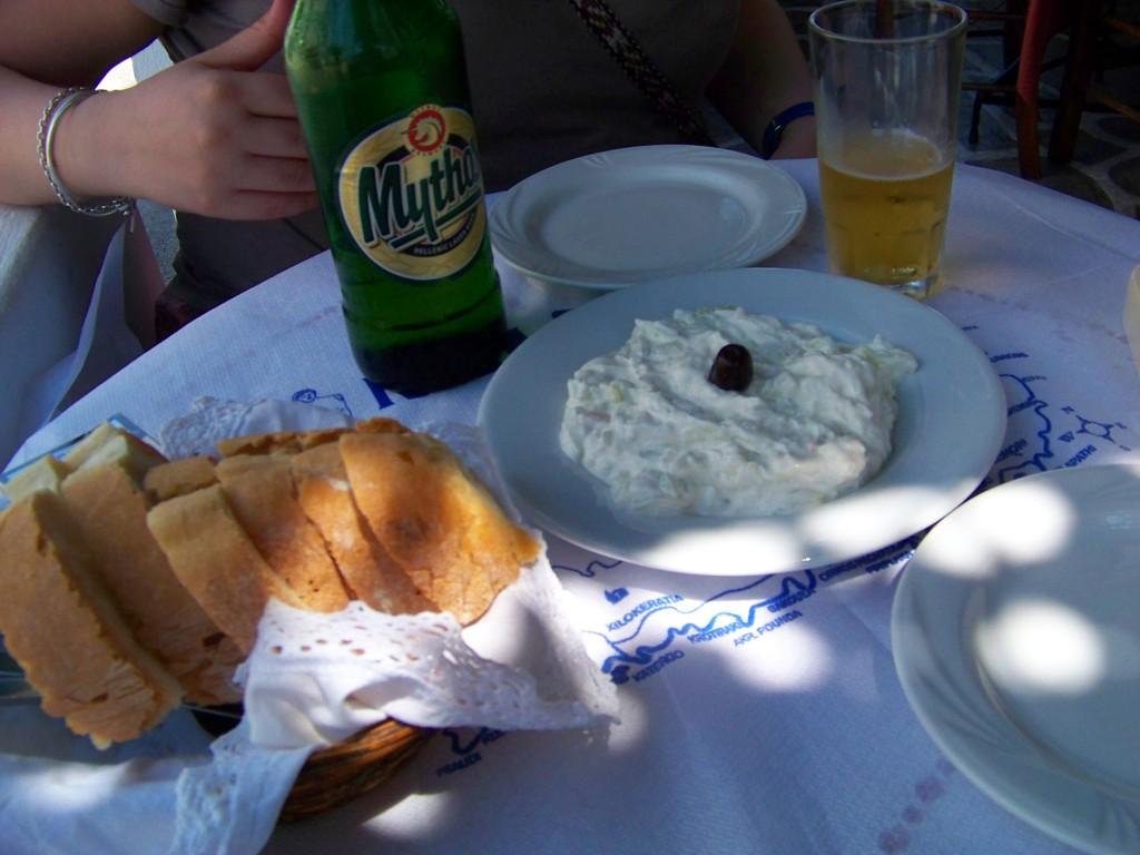 Menu à la Taverna et Ouzeri Plakiani Gonia à Milos