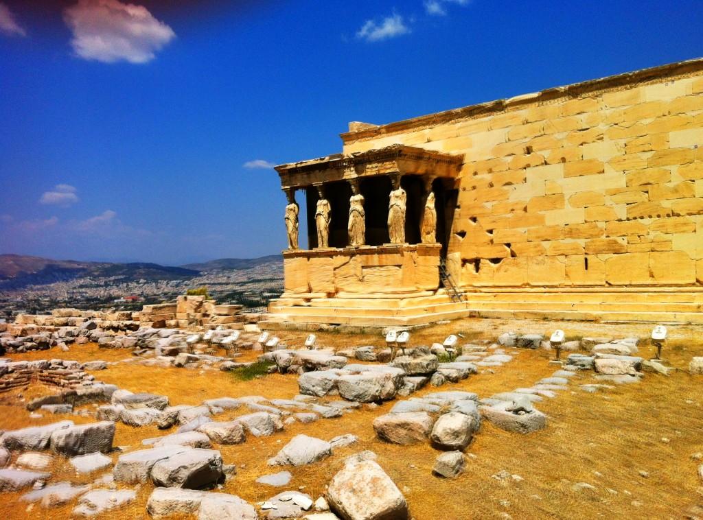 Le Parthénon, à Athènes.