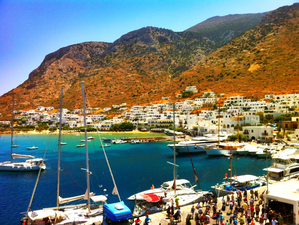 Le port de Sifnos.