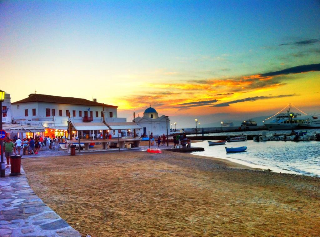 Chora, Mykonos, Grèce (Cyclades)